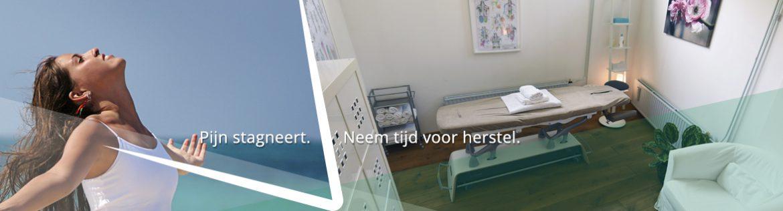 Pijn stagneert. Theo Tijs Fysotherapie Breda.